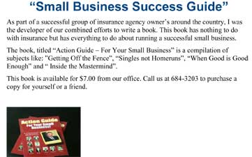 tom larsen small business guide promotion from newsletter